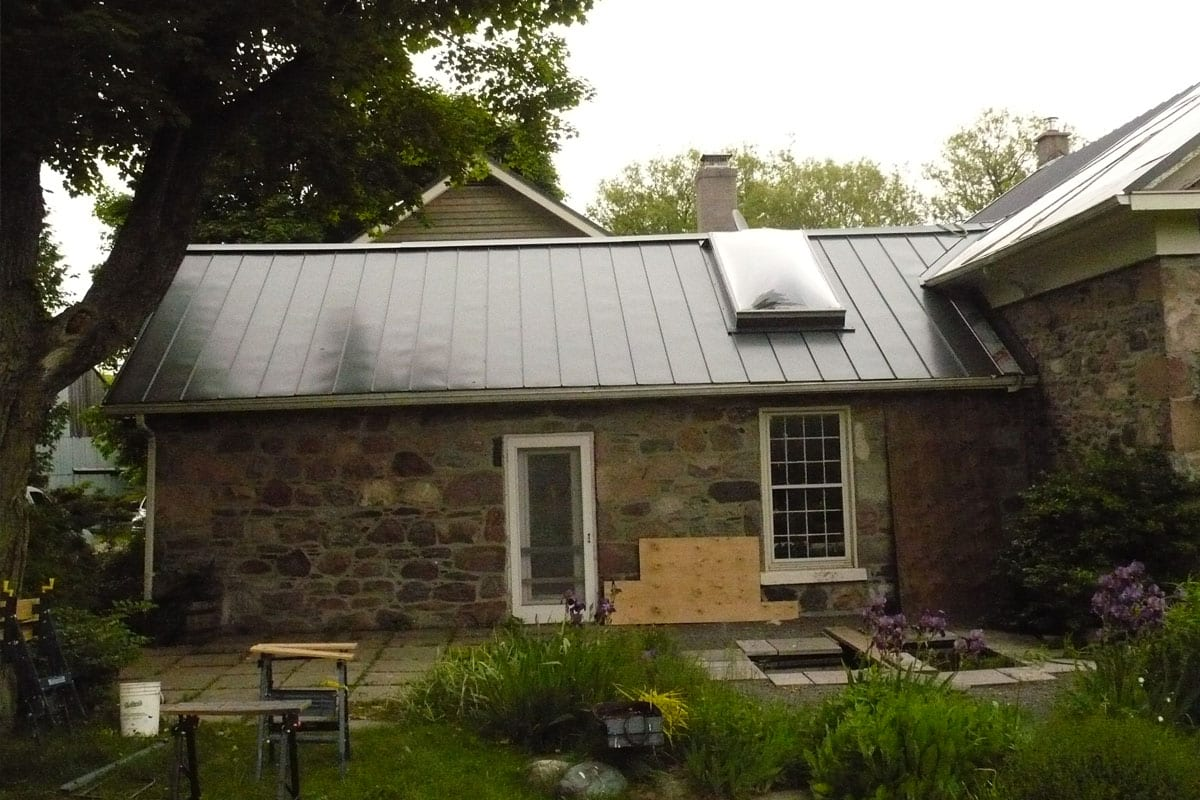 Metal Roof Landmark Roofing In Matte Black Moffatt